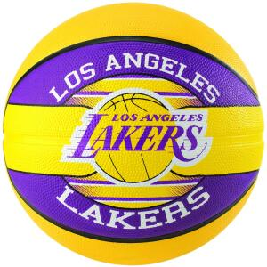 Spalding Bola Basquete TIME NBA Borracha - LA Lakers