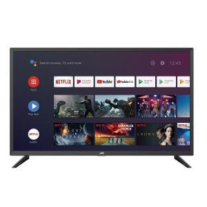 "Smart TV LED 32"" JVC LT-32MB208 HD Android Google Assistance Dolby Digital Stereo Plus 3 HDMI 2 USB"