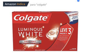 [PRIME] Creme Dental Colgate Luminous White Brilliant Mint 70G Leve 3 Pague 2