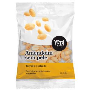 Amendoim Yep To Go Torrado Salgado 30g - R$2