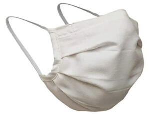 Máscara de Tecido Branca 2 Camadas | R$ 2,81