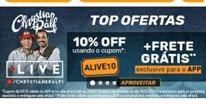 10% OFF no APP da Efacil
