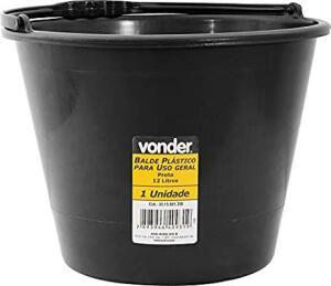 [Prime] Balde Plástico Uso Geral 12 Litros, Vonder Vdo3106 Vonder | R$ 7