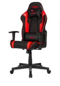 Cadeira gamer DXRacer NEX preta / vermelha | R$1.208