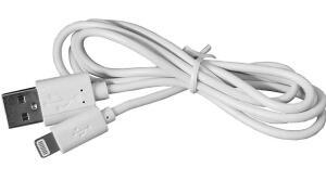 Cabo Plug e Play Multilaser Para Iphone 5/6/7 1M Branco - WI340