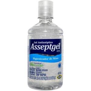 [Loja Física] Álcool em gel Asseptgel - 420g