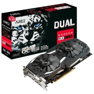 Placa de Vídeo Asus Arez Dual AMD Radeon RX 580 OC Edition, 8GB, GDDR5 - AREZ-DUAL-RX580-O8G