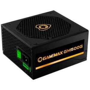 Fonte Gamemax GM500G, 500W, 80 Plus Gold, Semi-Modular | R$480