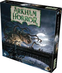 Arkham Horror Board Game: Calada da Noite | R$180