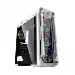Gabinete Gamer Gamemax Optical Acrilico RGB - G510W (Branco ) | R$358