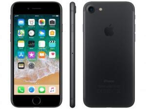 iPhone 7 32GB Preto Matte | R$1.709