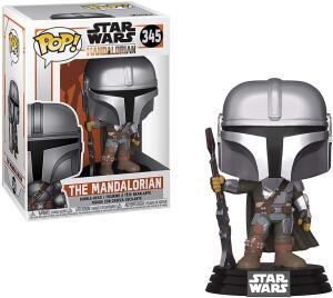 Funko Pop! Disney: Star Wars The Mandalorian 345 | R$119
