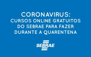 Cursos online e GRATUITOS do SEBRAE c/ certificado.