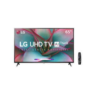 "Smart TV LED 65"" LG UN7310PSC 4K Bluetooth HDR, Thinq Ai | R$3199"