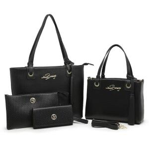 [Prime] Kit Bolsa Feminina Grande + Baú + Carteira R$ 150