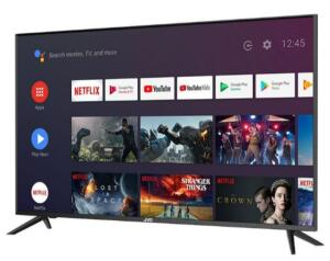 "SMART TV LED 55"" JVC LT-55MB508 Ultra HD 4K Android Google Assistance Dolby Digital Stereo Plus 4 HDMI 3 USB"