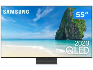 "Smart TV 4K QLED 55"" Samsung QN55Q95TAGXZD R$ 7884"