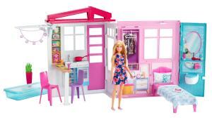 Barbie Casa Glam com Boneca Mattel | R$ 250