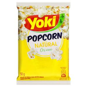 [8,34] 10 Popcorn Micro Natural Yoki 50g