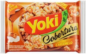 [23,70] 10 Popcorn Micro Cobertura Caramelo Yoki 160g