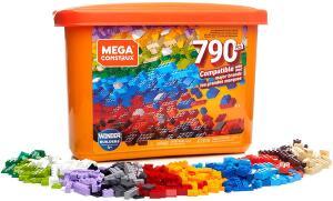 Caixa Core Blocos de Contar, 790 peças, Mega Construx, Mattel R$ 160
