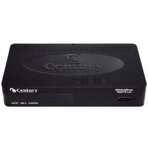 ( Prime ) Receptor Midiabox B3 HDTV, Century, 0001, Preto | R$389