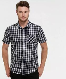 Camisa Masculina Estampa Xadrez - R$5
