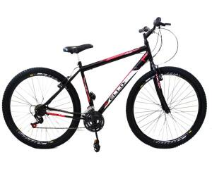 Bicicleta Aro 29 Aro Aero 21 M. Quadro18,5 Velox Preta | R$549
