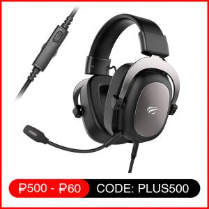 Headset Havit HV-H2002D 3.5mm Preto/Cinza | R$183