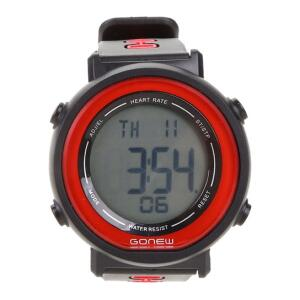 Monitor Cardíaco Gonew Global - Preto e Vermelho R$ 50
