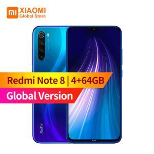 Smartphone Redmi Note 8 4GB 64GB (Preto) | R$814
