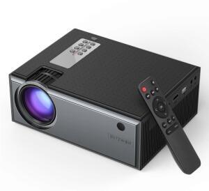 Blitzwolf® BW-VP1 LCD Projector 2800 Lumens | R$357