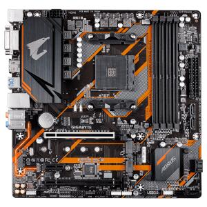 Placa Mãe B450M AORUS ELITE, Chipset B450, AMD AM4, mATX, DDR4   R$819