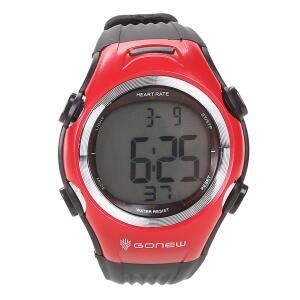 Monitor Cardíaco Gonew Speed - Preto e Vermelho | R$50