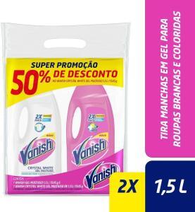[Prime] (R$ 24,50) Vanish com 1 Pink e 1 Crystal White
