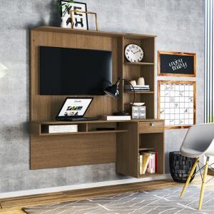 Mesa P/ Computador Colibri Agáve Com Painel Para TV 42 Pol | R$362