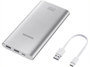 [2 UNIDADES] Carregador Portátil/Power Bank Samsung 10000mAh - Fast Charge | R$188
