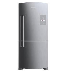 Geladeira Brastemp Frost Free Inverse 573 litros cor Inox com Smart Bar - BRE80AK R$ 3797