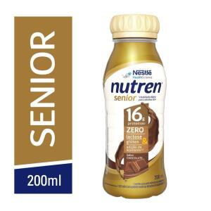[LEVE 8 PAGUE 6] Complemento Alimentar Nutren Senior Rtd Chocolate 200ml