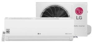 Ar Condicionado Split LG DUAL Inverter Compact 9.000 BTUs, Frio, 220V