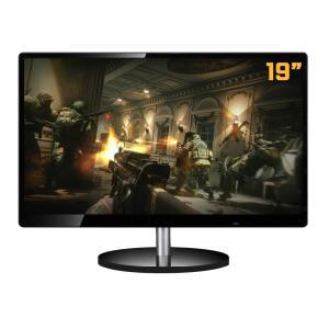 Monitor Pctop 19 Pol, HD, 60Hz, 5 Ms, HDMI-VGA, TDD-DM1900KB - R$359