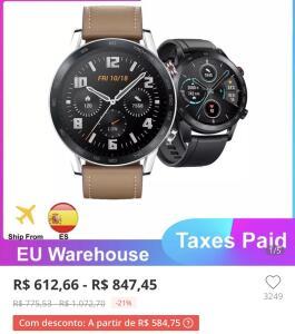 Honor Magic Watch 2 - R$691