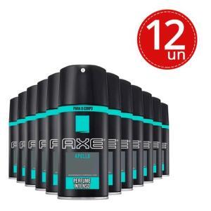 Kit Desodorante Axe Body Spray Dark Tempatation 90g - 12 unidades | R$57