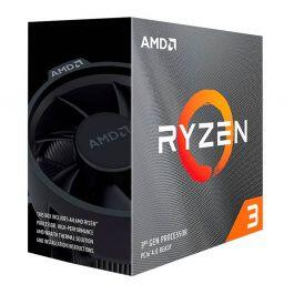 PROCESSADOR AMD RYZEN 3 3300X QUAD-CORE 3.8GHZ (4.3GHZ TURBO) 18MB CACHE AM4 - R$949