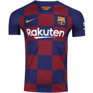 Camisa Barcelona I 19/20 Nike - Masculina - TAM P | R$ 112