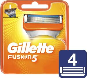 [Prime] [Recorrente] Carga Para Aparelho De Barbear Gillette Fusion 5 c/4 unidades Gillette - R$ 46,17