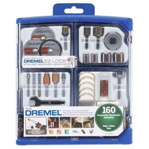 Kit para Mini Retifica DREMEL 160 Peças 710-RW2 | R$180