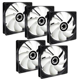 KIT Fan Cooler Preto/branca Gamemax 5 FAN 46,5 CFM | R$68