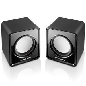 Caixa De Som Mini 2.0 3w Rms Usb Sp144 Multilaser | R$24