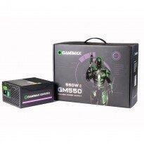 Fonte Gamer ATX Gamemax GM550 550W 80 Plus Bronze Preto | R$ 337